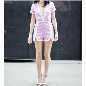 NWOT missguided romper!!